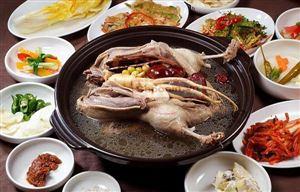 Ngay bây giờ hãy thử ngay món súp gà hầm nhân sâm Hàn Quốc hấp dẫn