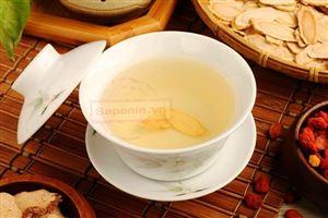 Học cách pha trà uống đúng cách từ Nhân sâm khô hộp sắt