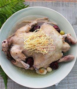 Hướng dẫn cách nấu món gà hầm đông trùng hạ thảo thơm ngon chuẩn dinh dưỡng!