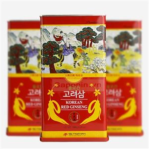 Hồng sâm khô Hộp thiếc Hàn Quốc 6 năm tuổi thượng hạng