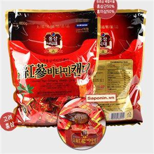 Kẹo Hồng sâm Hàn Quốc gói lớn 800gr