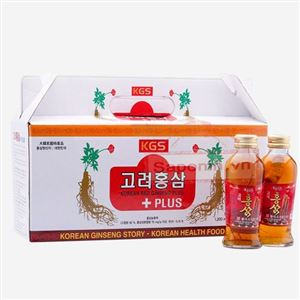 Nước Hồng sâm Hàn Quốc nguyên củ dạng chai